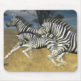 Racing Stripes, Zebra Mouse Pad