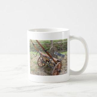 Racing sulky used in harness racing coffee mug