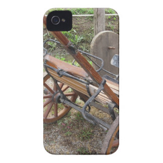 Racing sulky used in harness racing iPhone 4 Case-Mate case
