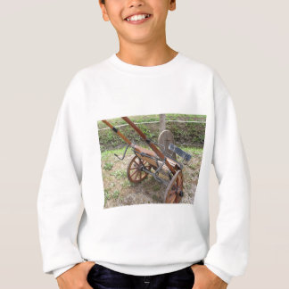 Racing sulky used in harness racing sweatshirt