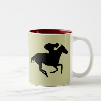 Racing Two-Tone Coffee Mug