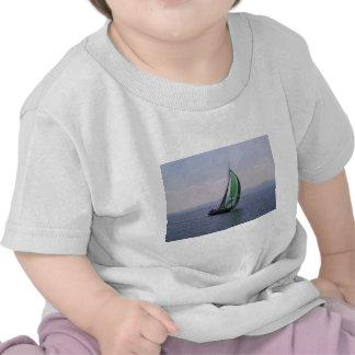 Racing yacht. t-shirt