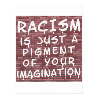 Racism - Graffiti Postcard
