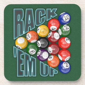 Rack Em Up Coaster