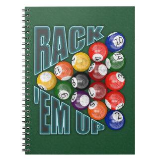 Rack Em Up Note Book