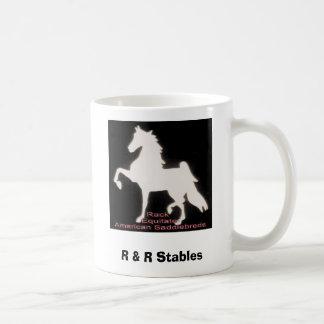 Rack Equitate on Saddlebreds, R & R Stables Coffee Mug