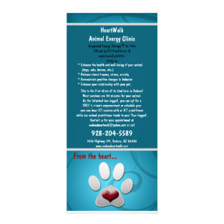 rackcard pets personalized rack card