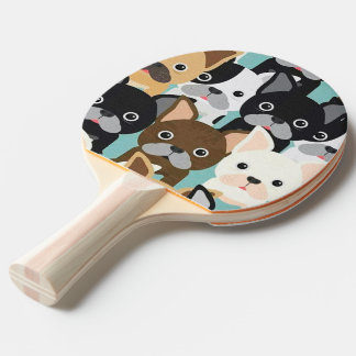 "Racket of ping-pong ""Doguinhos "" Ping-Pong Paddle"