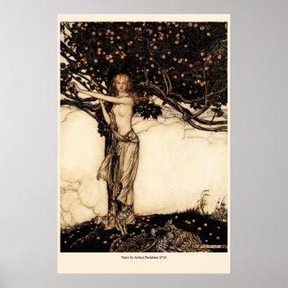 Rackham Freya CC0050 Poster