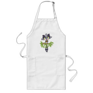 racoon_1 long apron