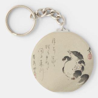Racoon-dog (Tanuki) by Shibata Zeshin Keychain