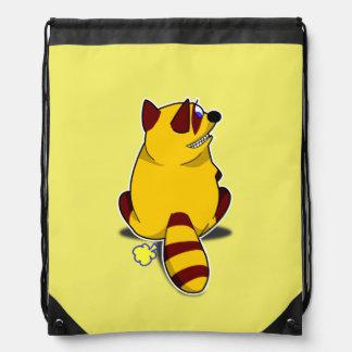 Racoon Drawstring Backpack