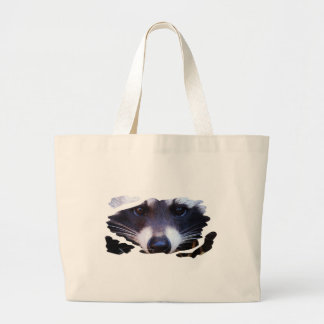 RACOON RACCOON - Photography Jean Louis Glineur Large Tote Bag
