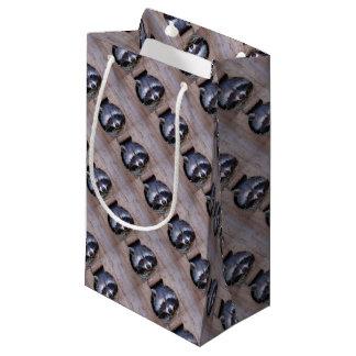 Racoon raccoon small gift bag