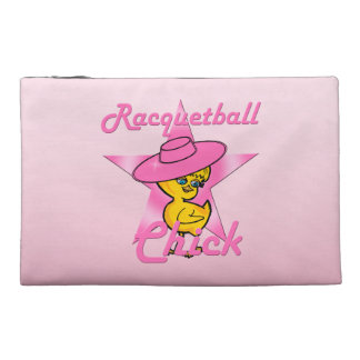Racquetball Chick #8 Travel Accessory Bag