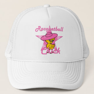 Racquetball Chick #8 Trucker Hat