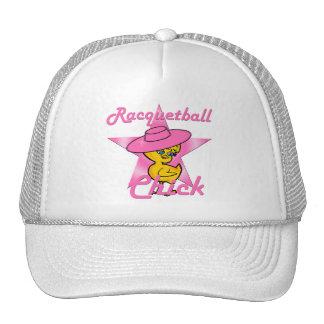 Racquetball Chick #8 Trucker Hat
