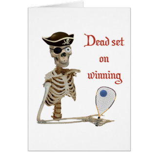 Racquetball Pirate Dead Card