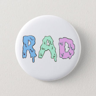Rad 2 Inch Round Button