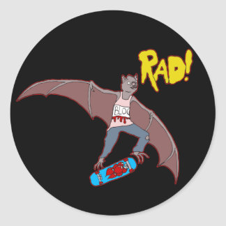 Rad Bat Sticker