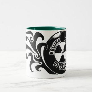 RAD Caffeine Holding Unit Two-Tone Coffee Mug