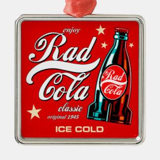 Rad Cola Metal Ornament