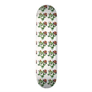 Rad Girl Flower Heart Custom Pro Slider Board Skateboard Deck
