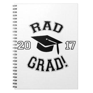 Rad Grad 2017 Notebooks