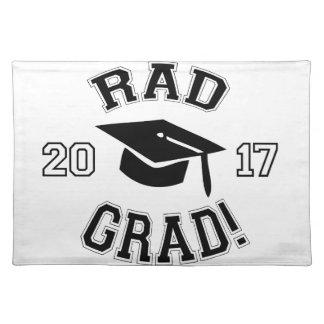 Rad Grad 2017 Placemat