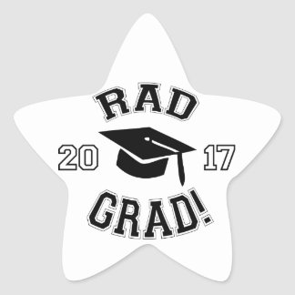 Rad Grad 2017 Star Sticker