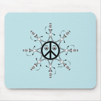 Rad Hatter #1 Mouse Pad
