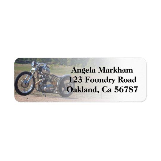 Rad Motorcycle Biker Custom Address Labels