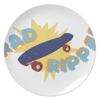 Rad Ripper Skateboard Plate