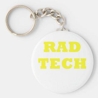 Rad Tech Keychain