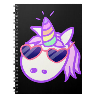 Rad Unicorn Note Books