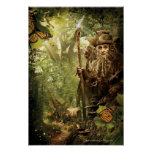 RADAGAST™ in Forest Poster