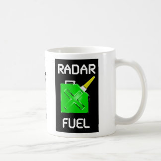 Radar Fuel Tank Coffee Mug