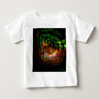 radar kaleidoscope pattern baby T-Shirt
