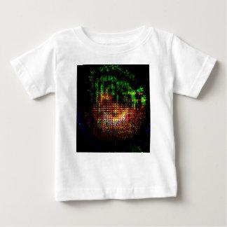 radar kaleidoscope pattern baby T-Shirt
