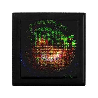 radar kaleidoscope pattern keepsake box