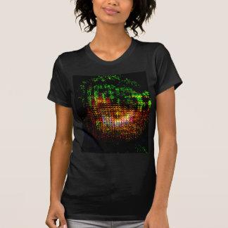 radar kaleidoscope pattern T-Shirt