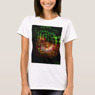 radar kaleidoscope pattern T-Shirt