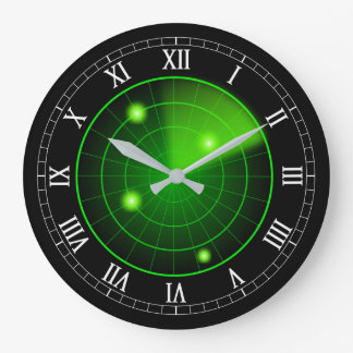 Radar Large Clock