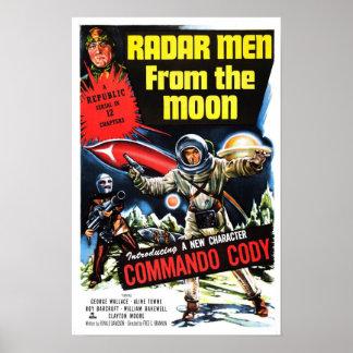 """Radar Men from the Moon""  Poster"
