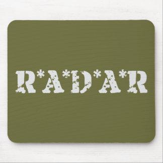 Radar Mouse Pad