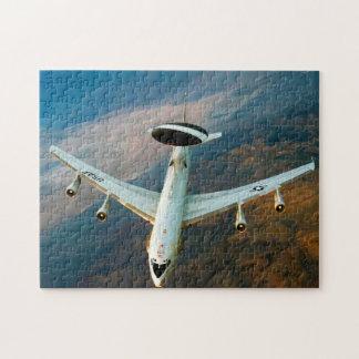 Radar Patrol Plane. Nevada. Jigsaw Puzzle