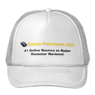 Radar Reviews Hat! Trucker Hat