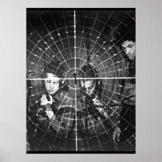 Radar scope. Ca.  1944-45. (Navy)_War image Poster