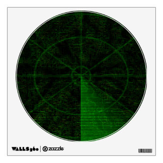 Radar wall decal