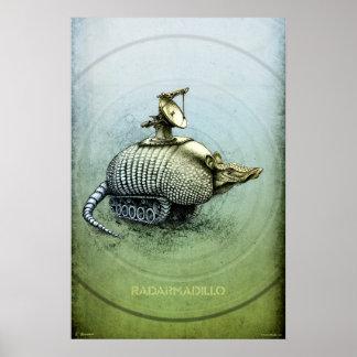 Radarmadillo Poster